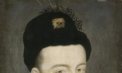 Henryk III Walezy upodobał sobie kolczyk w jednym uchu. Fot. Wikimedia
