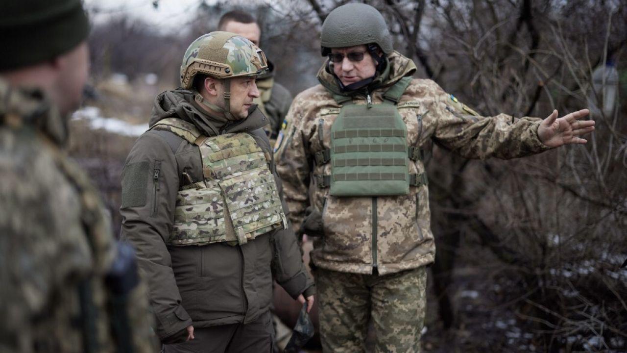 Spotkanie ma związek z konfliktem w Donbasie (fot. Ukrainian Presidency/Handout/Anadolu/Getty Images)