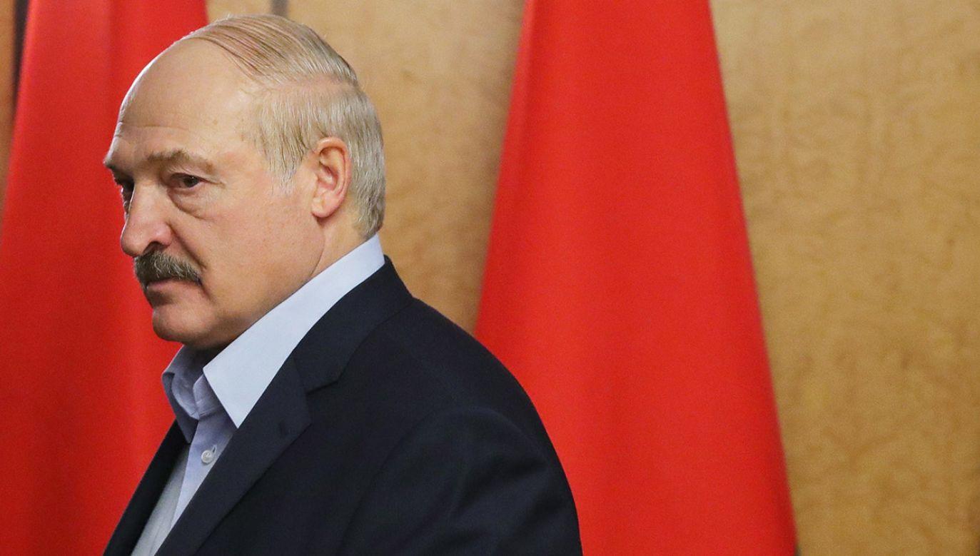 Łukaszenka dodał, że w ubiegłym roku Rosnieft dostarczył około połowy zakupionej przez Białoruś w Rosji ropy (fot. PAP/EPA/MICHAEL KLIMENTYEV / SPUTNIK / KREMLIN POOL)