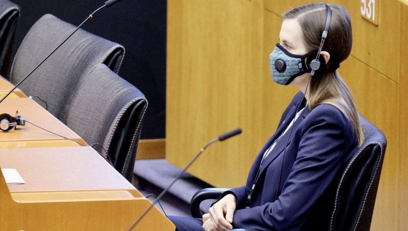 Sylwia Spurek apelowała o wprowadzenie sankcji wobec rządów Polski i Węgier (fot. Thierry Monasse/Getty Images)
