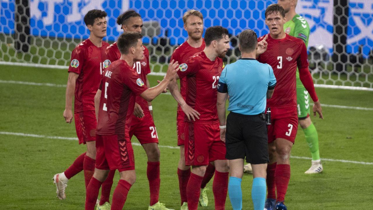 Piłkarze reprezentacji Danii nie zagrają o brąz Euro (fot. Getty)