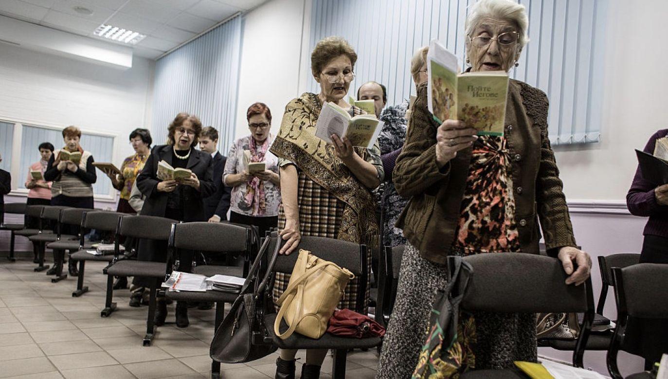 W Rosji działalność świadków Jehowy jest zakazana (fot. Alexander Aksakov/For The Washington Post via Getty Images)