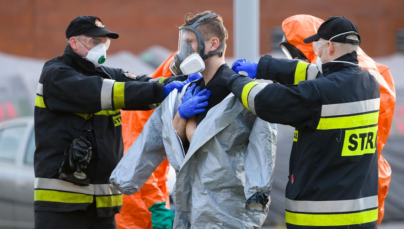 Musiały interweniować służby (fot. PAP/Jakub Kaczmarczyk)