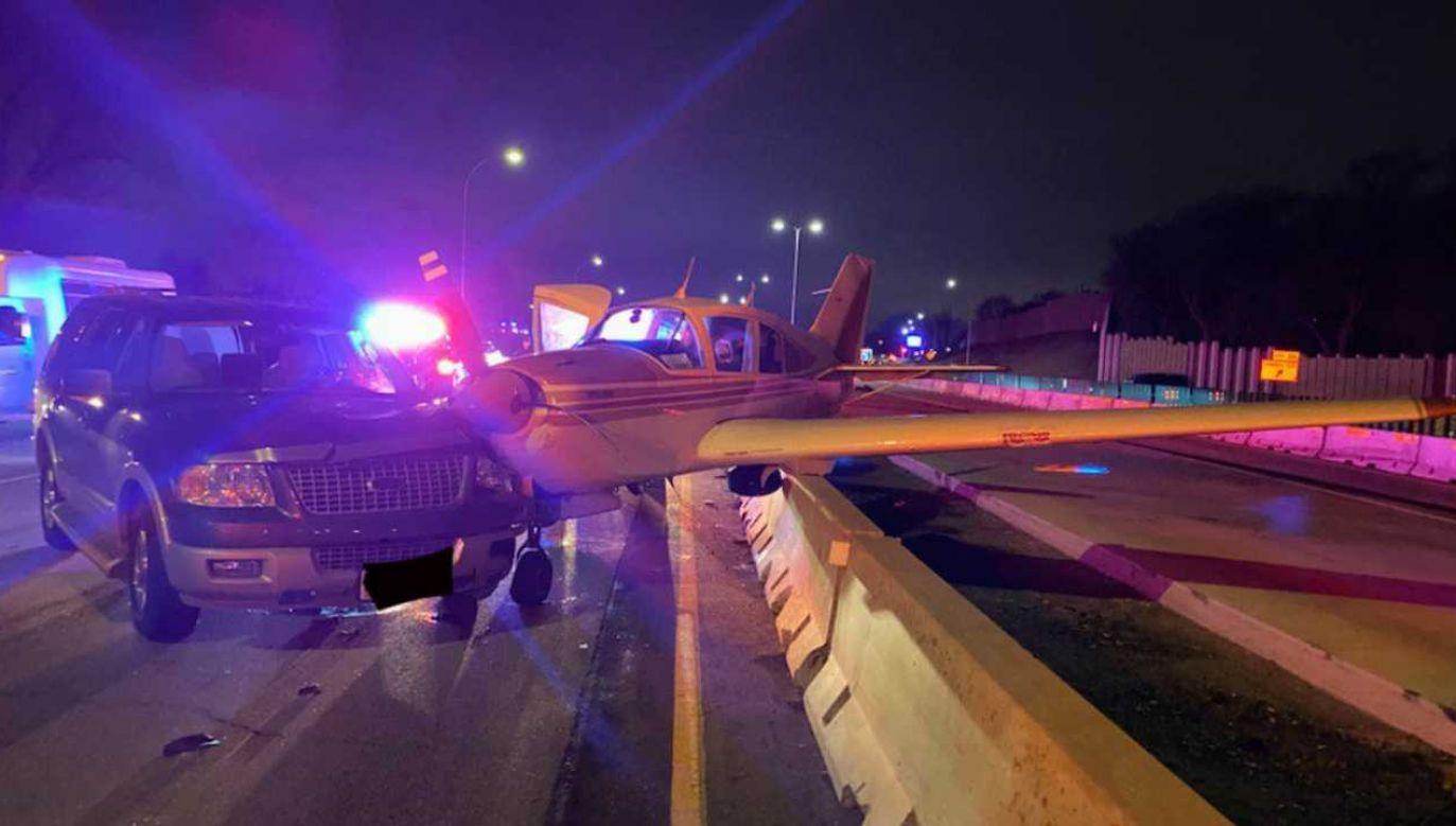 Na szczęście nikt nie ucierpiał (fot. TT/Ramey County Deputy's Federation)