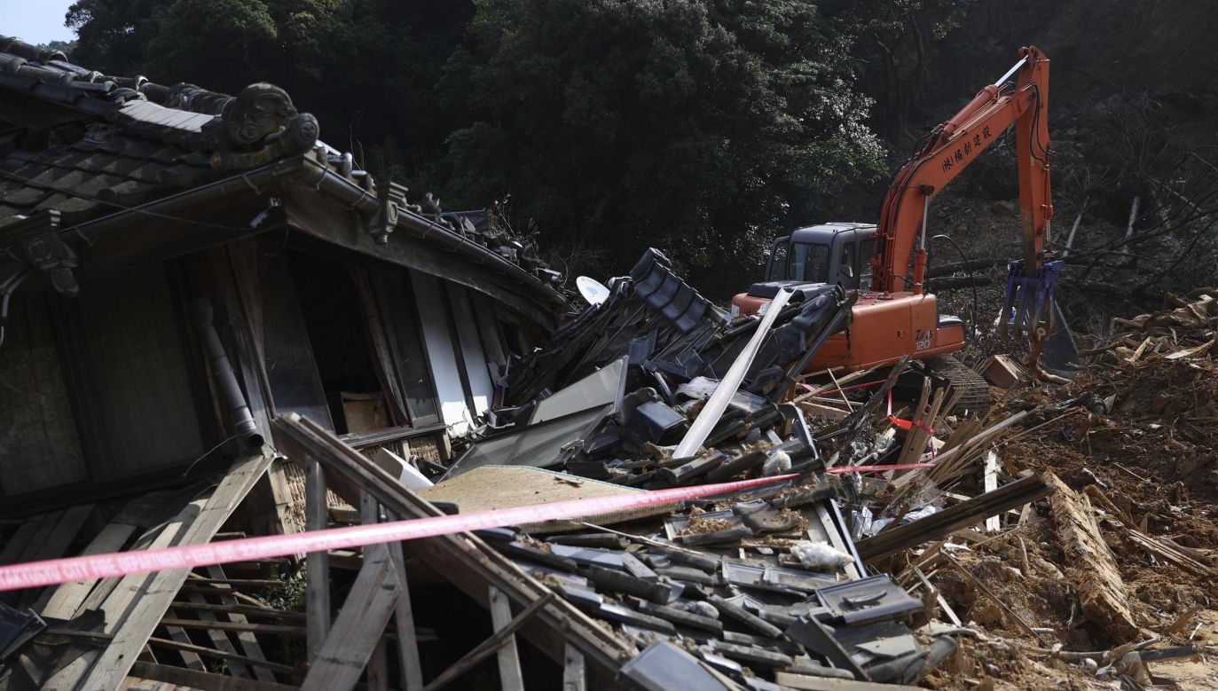 17 żołnierzy nie zostało do tej pory odnalezionych (fot. Kyodo News via Getty Images)