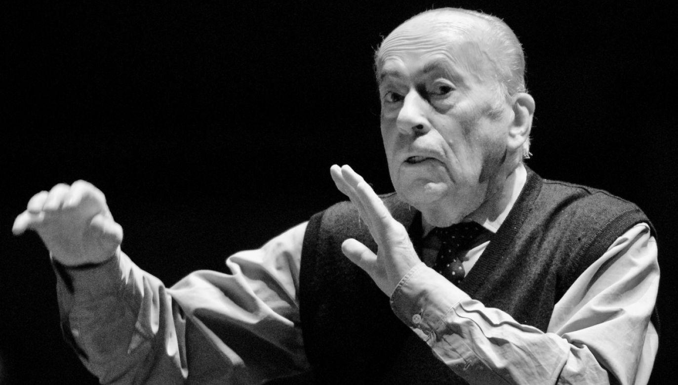 Jan Krenz zmarł w wieku 94 lat (fot. arch.PAP/Andrzej Rybczyński)