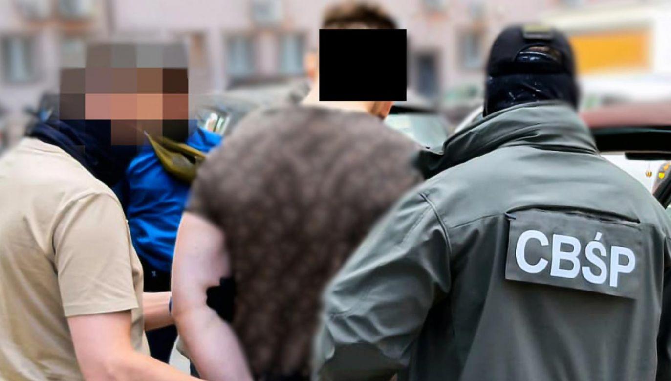 Podejrzany 23-latek usłyszał już zarzuty (fot. Policja)