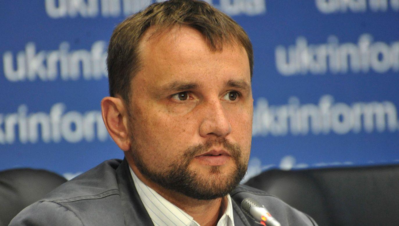 Wiatrowycz był szefem instytucji od 2014 roku (fot. arch.PAP/Ukrinform)