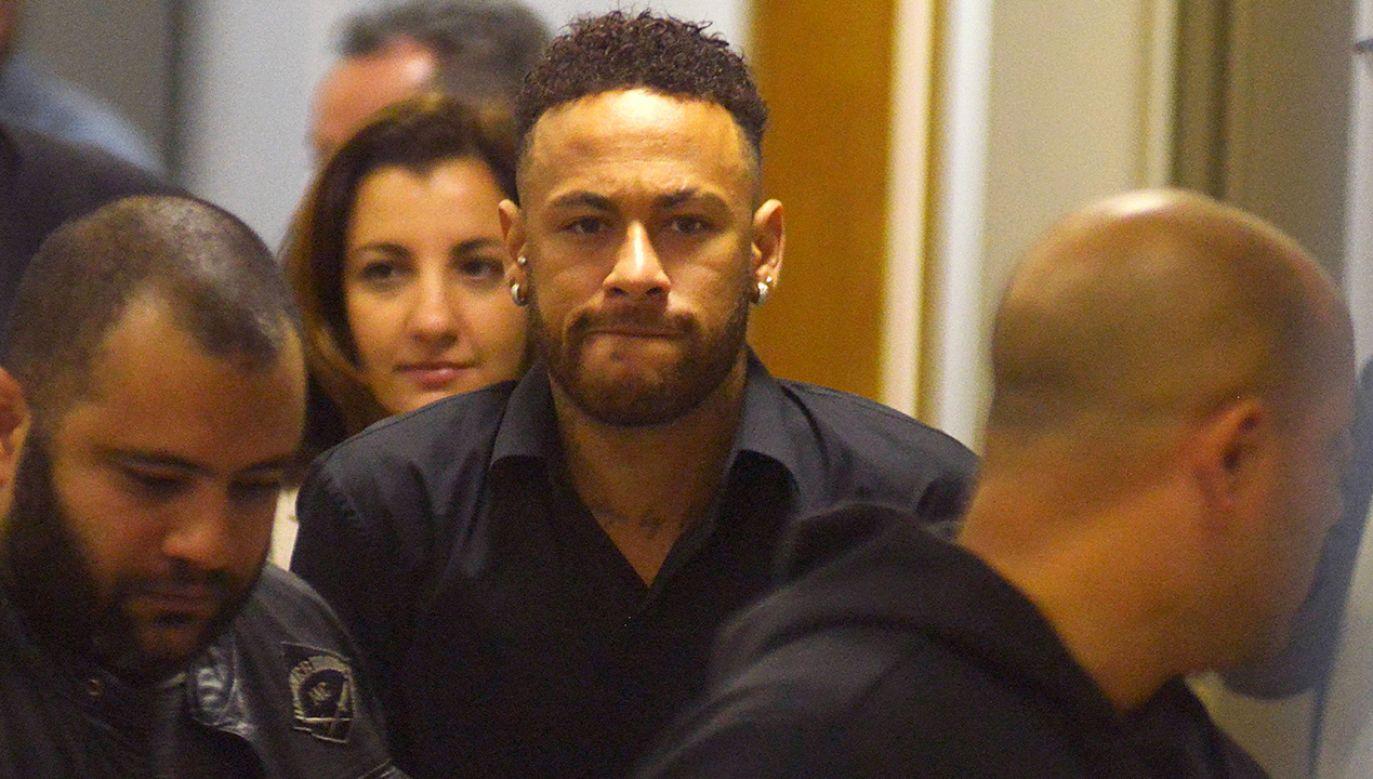 Brakuje dowodów, aby oskarżyć Neymara o gwałt czy napaść fizyczną (fot. REUTERS/Lucas Landau)