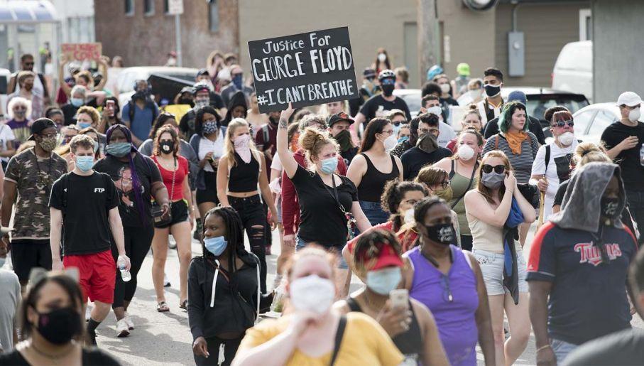 W USA wybuchły protesty po śmierci George'a Floyda (fot. Wiki 2.0/Fibonacci Blue)