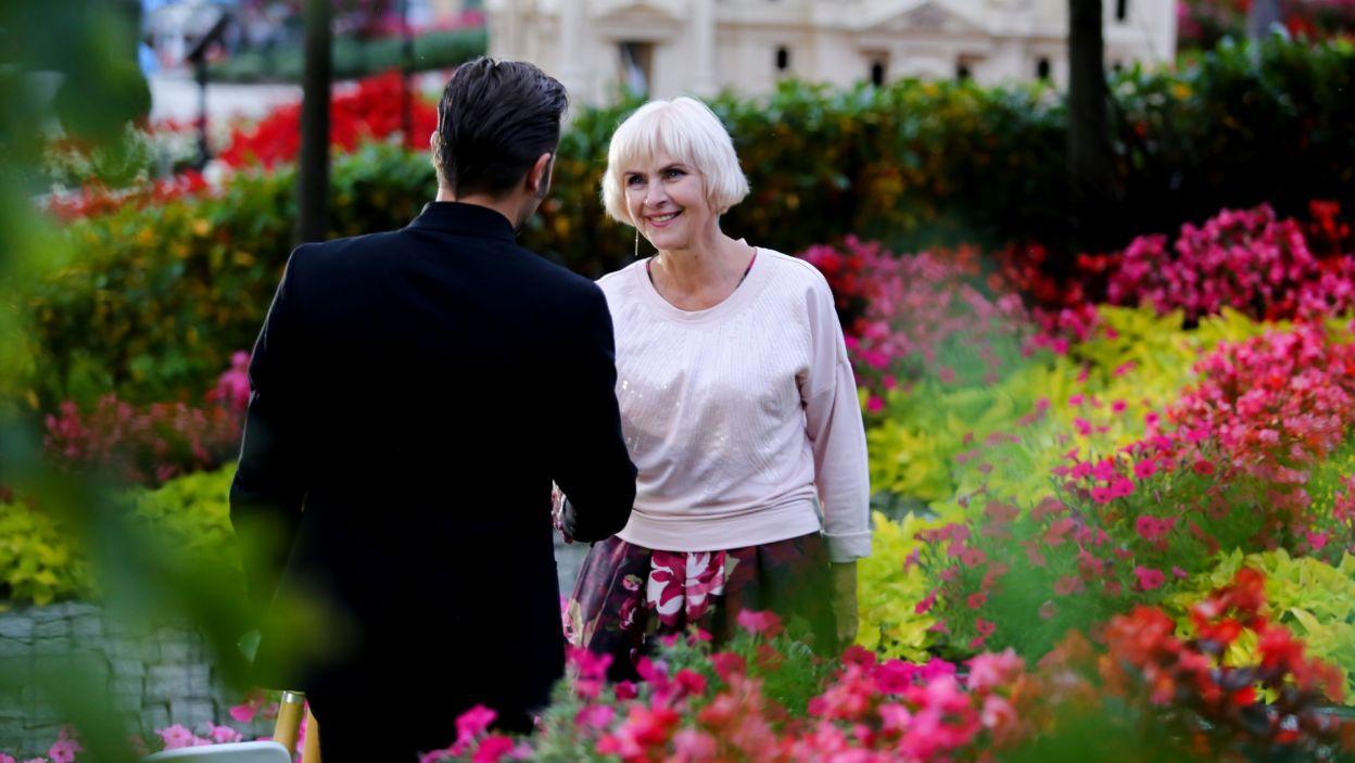 Czy Krystyna zdradziła, jakiego mężczyzny szuka? (fot. TVP)