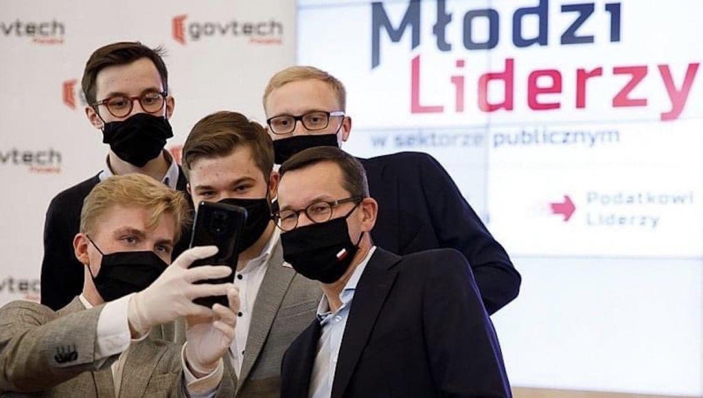 ateusz Morawiecki podkreślił, że rozpoznanie potrzeb społecznych jest kluczem do wyższej jakości usług publicznych (fot. Krystian Maj/KPRM)