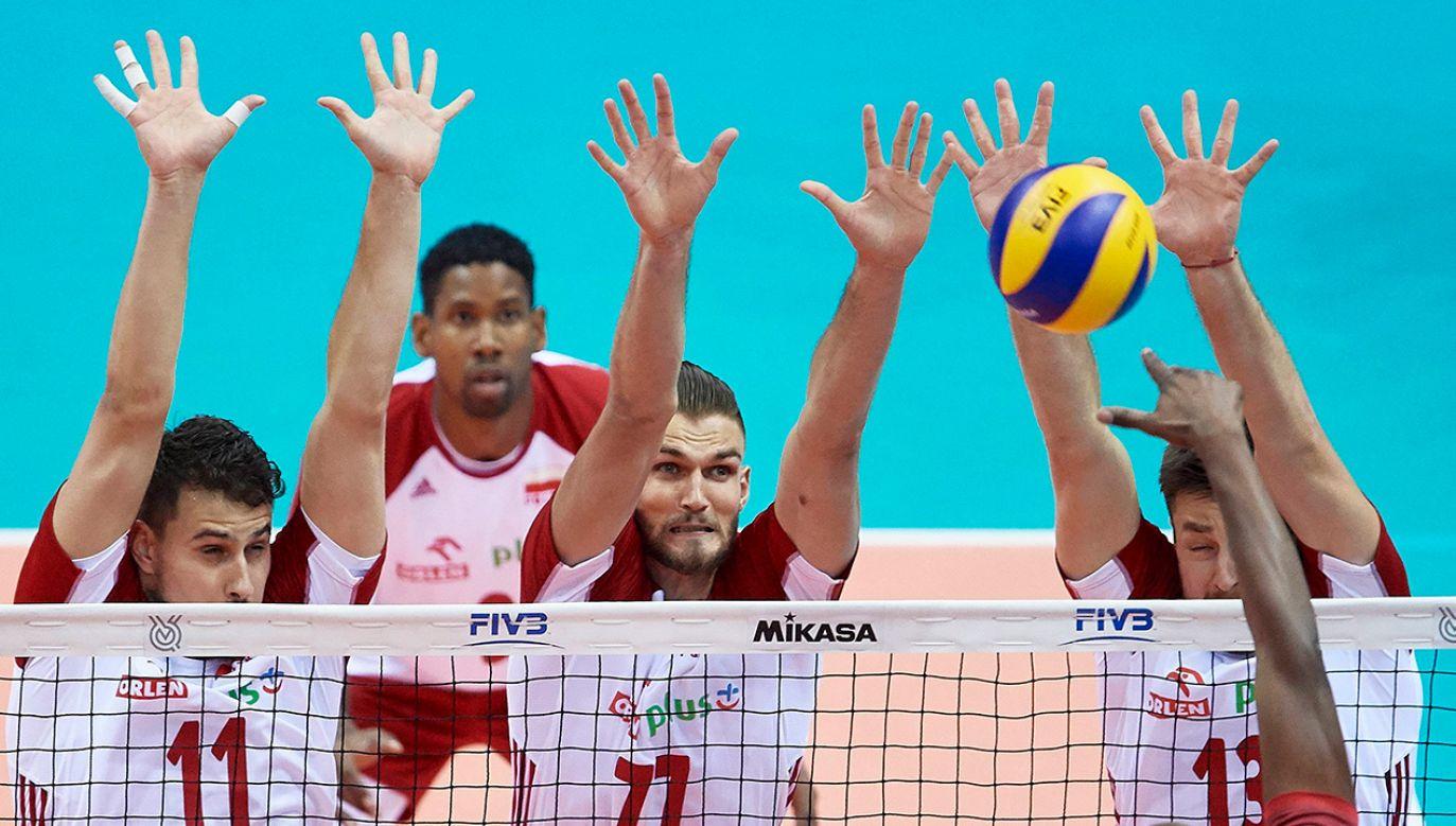 W Pucharze Świata Polacy wygrali sześć z siedmiu meczów (fot. arch. PAP/Adam Warżawa)