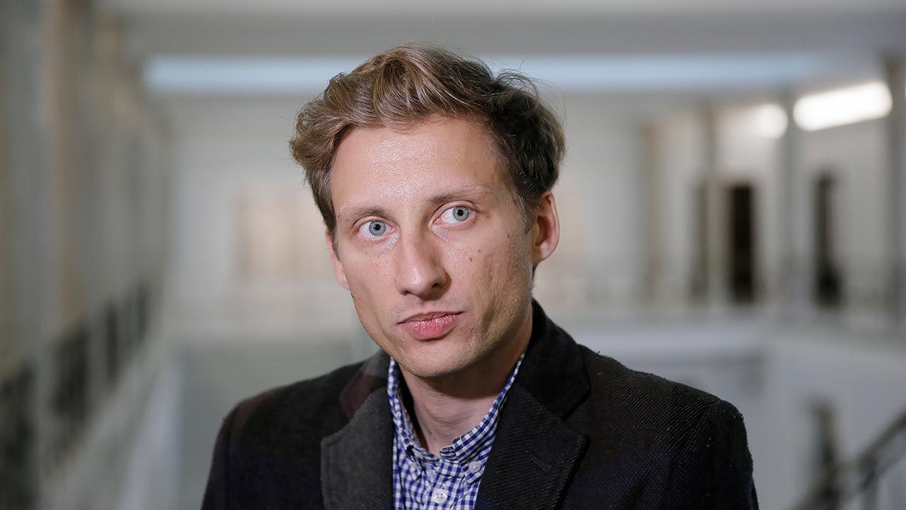 Franciszek Sterczewski jest posłem Koalicji Obywatelskiej (fot. PAP/Leszek Szymański)