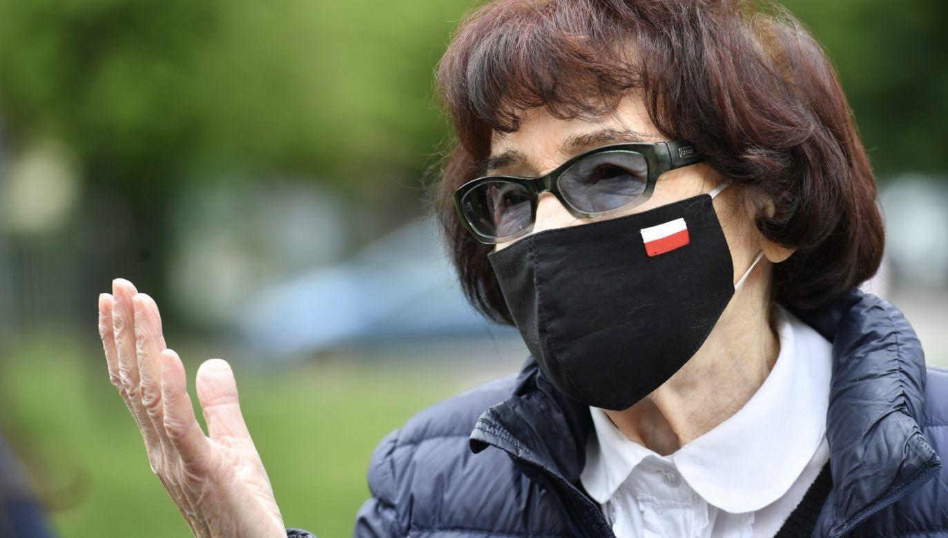 Zofia Pilecka-Optułowicz (fot. PAP/Piotr Nowak)