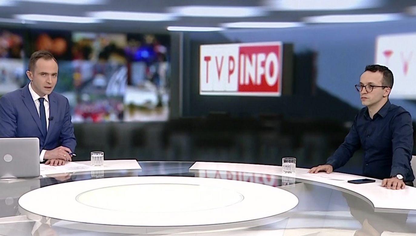– Do portalu tvp.info od jakiegoś czasu docierają informacje o tym, że są zbierane podpisy – powiedział Samuel Pereira (fot. TVP Info)