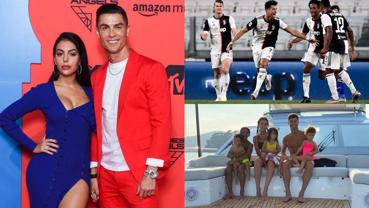 Serie A. Georgina Rodriguez i Cristiano Ronaldo świętowali mistrzostwo Włoch