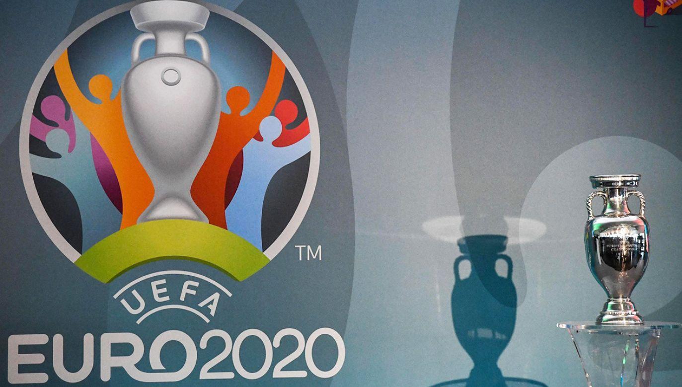 Mistrzostwa Europy mają się rozpocząć 11 czerwca 2021 roku (fot. PAP/EPA/ALESSANDRO DI MEO)