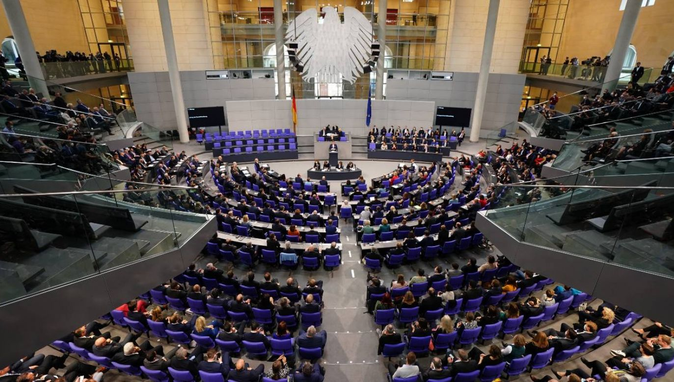Zieloni, SPD i FPD utworzą koalicję rządzącą w Niemczech (fot. PAP/EPA/CLEMENS BILAN)