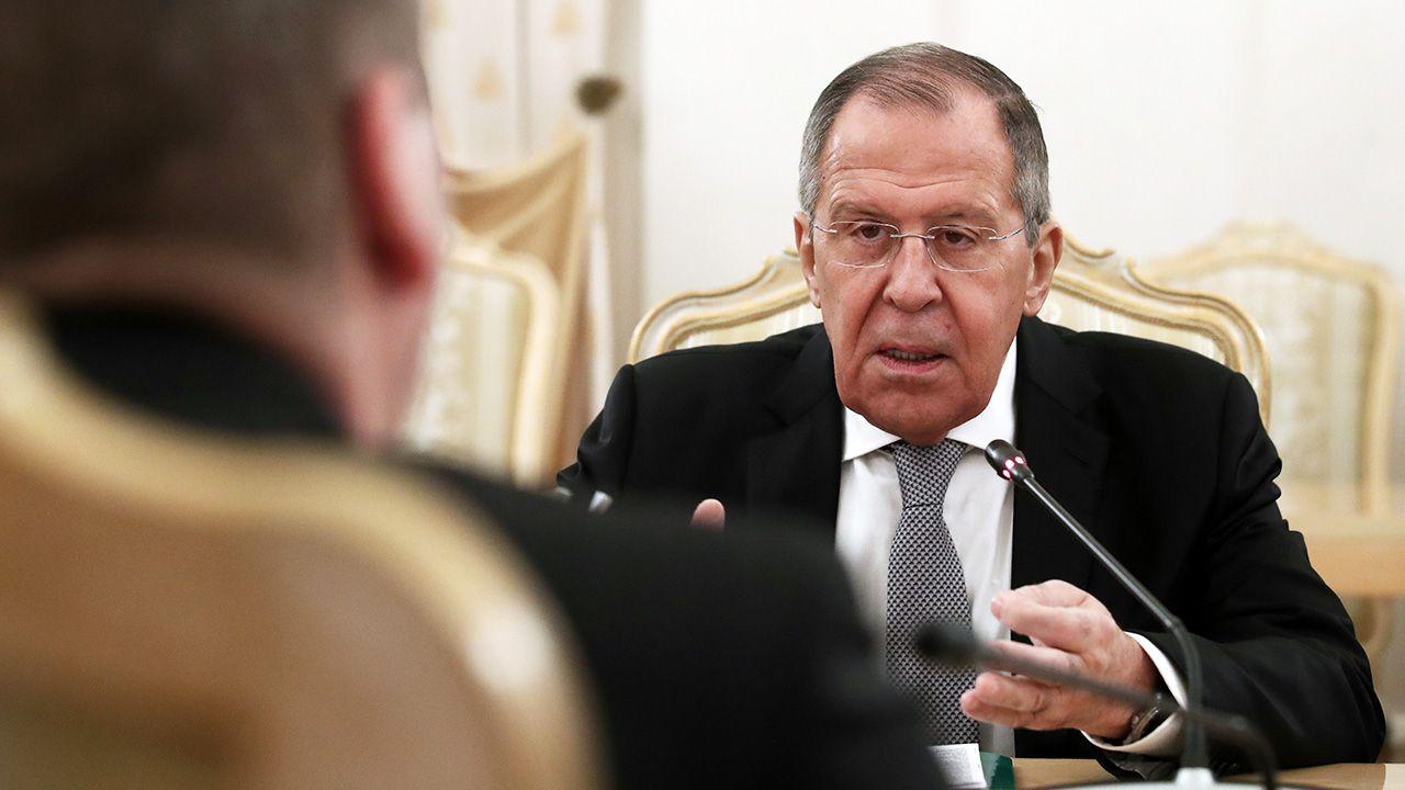 """Rosyjski minister chce zachowania """"dobrego imienia żołnierzy zwycięzców"""" (fot. Valery Sharifulin\TASS via Getty Images)"""