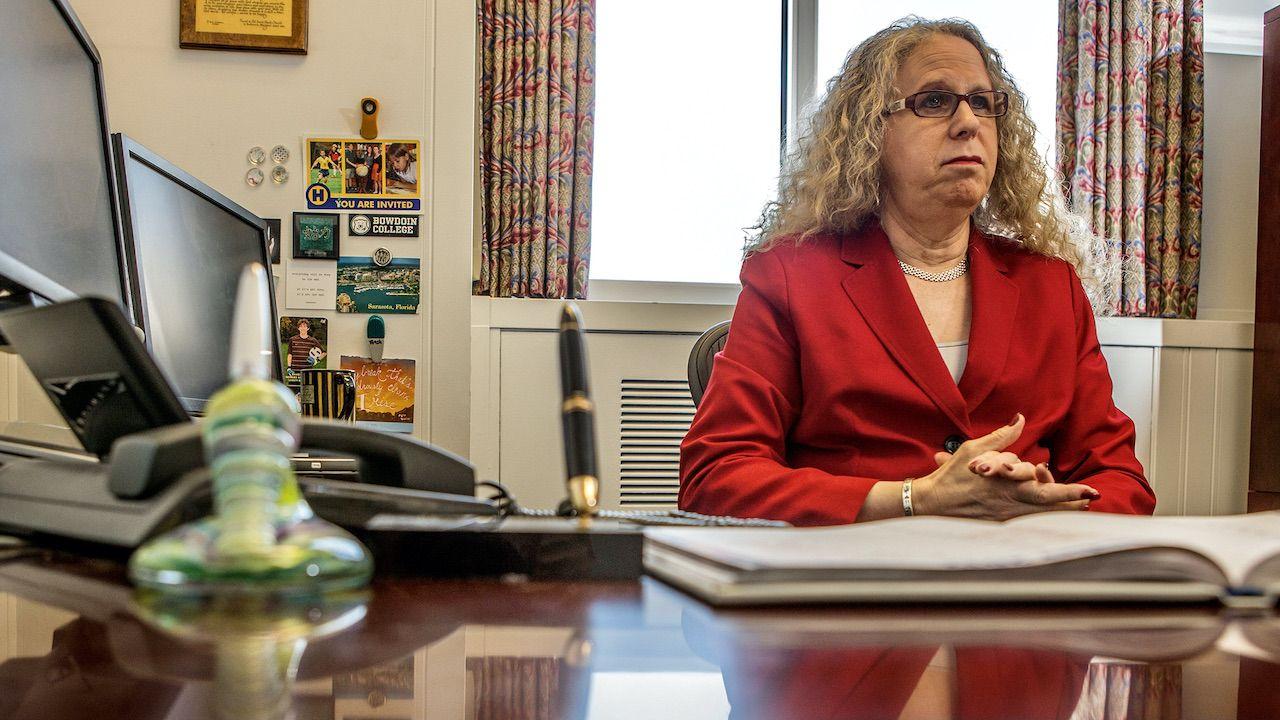 Dr Rachel Levine nominowana przez Joe Bidena na stanowisko asystenta sekretarza zdrowia (fot. REUTERS/Daniel Shanken)