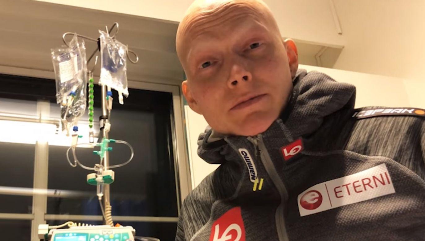 Bjoern Einar Romoeren pozdrawia Polaków również w naszym języku (fot. TVP Sport)