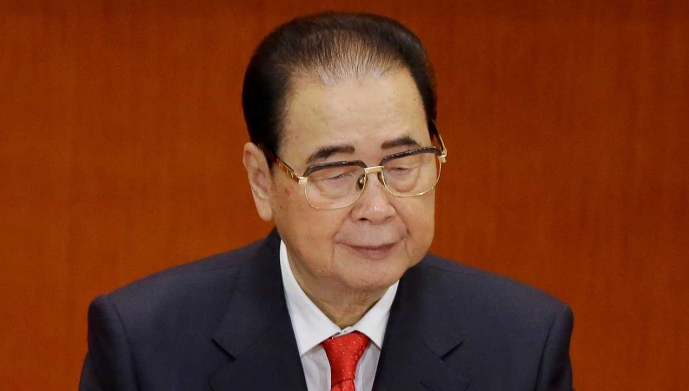 Według oficjalnej chińskiej agencji Xinhua, Li zmarł w poniedziałek wieczorem w Pekinie na nieokreśloną chorobę (fot. REUTERS/Jason Lee)
