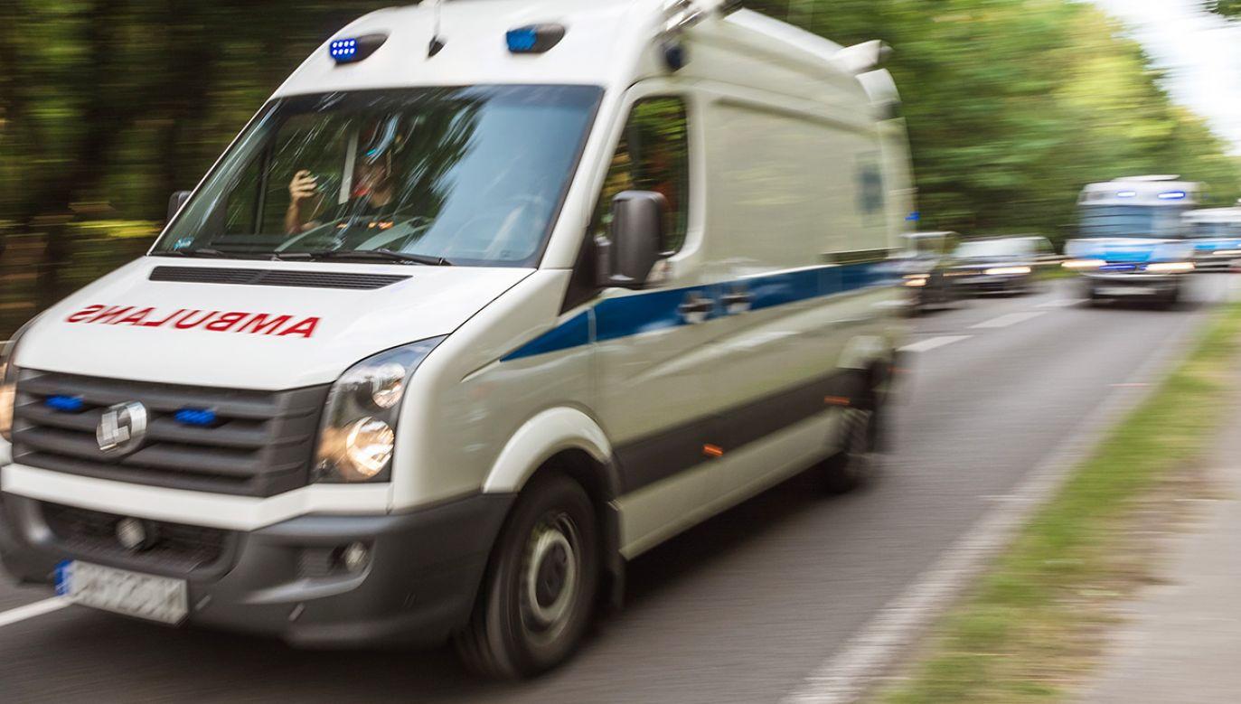 Wypadek w Kocku (fot. Shutterstock; zdjęcie ilustracyjne)