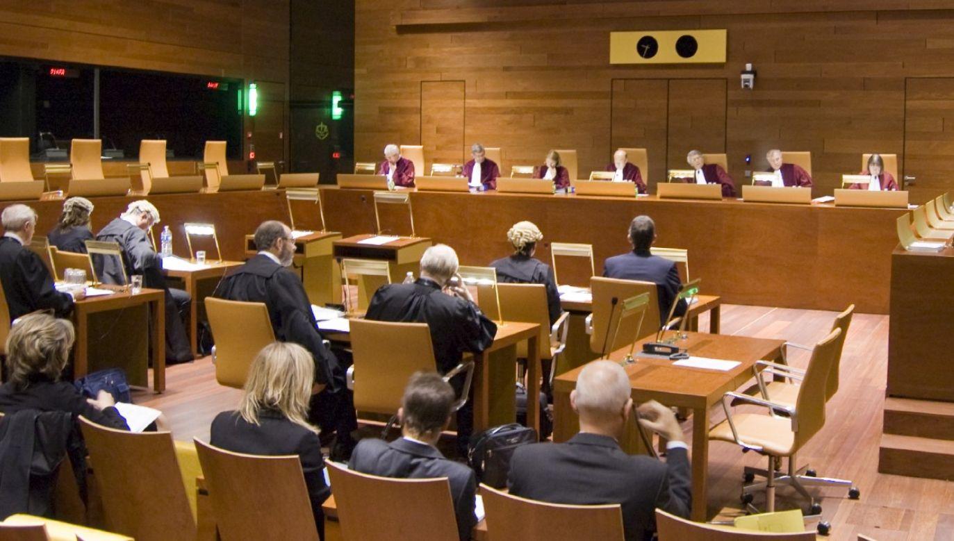 TSUE krytykuje reformę sądownictwa w Polsce (fot. TSUE)