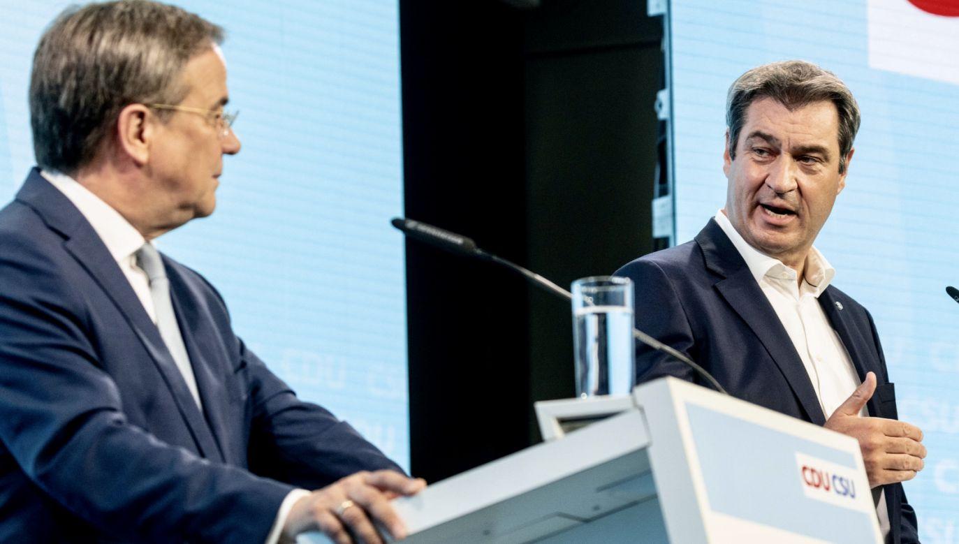 Wybory w Niemczech. Partie ogłaszają program (fot. PAP/EPA/FILIP SINGER)