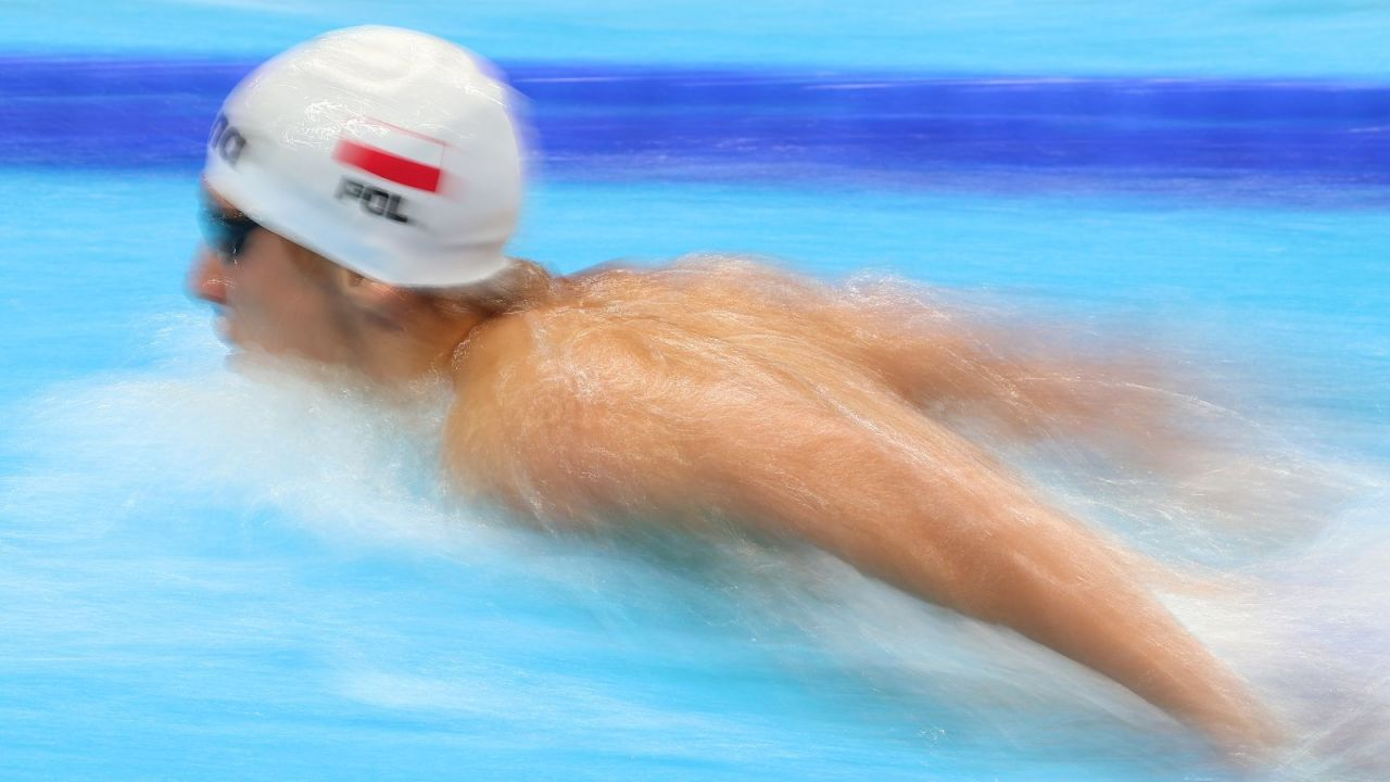 Krzysztof Chmielewski pobił rekord życiowy i awansował do finału olimpijskiego (fot. Getty)