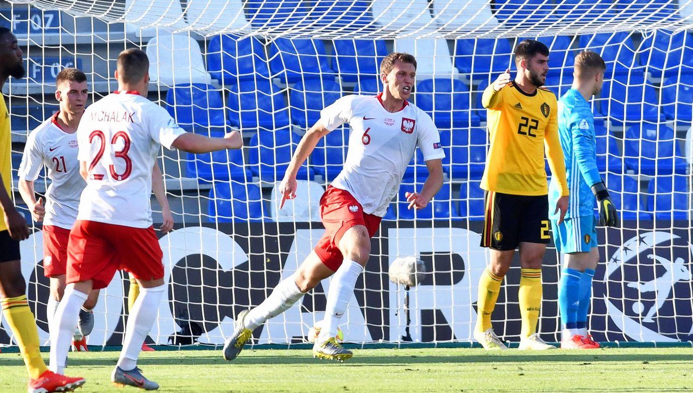 Na inaugurację grupy A biało-czerwoni pokonali Belgów 3:2 (fot. PAP/EPA/Alessio Tarpini)