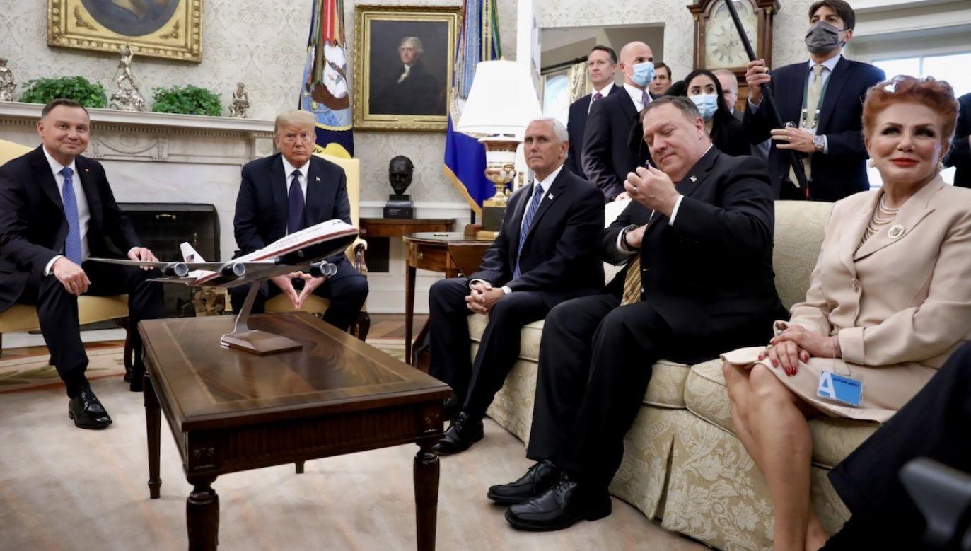Ambasador zapewniła, że różnica zdań w sprawie prywatnego nadawcy nie wpływa na jakość relacji polsko-amerykańskich (fot. PAP/Leszek Szymański)