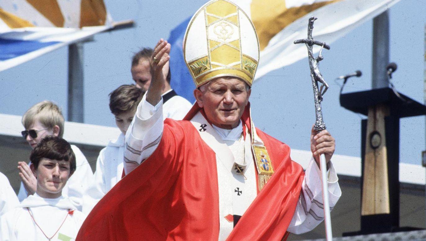 18 maja przypada rocznica urodzin św. Jana Pawła II (fot. Hulton Archive/Getty Images)