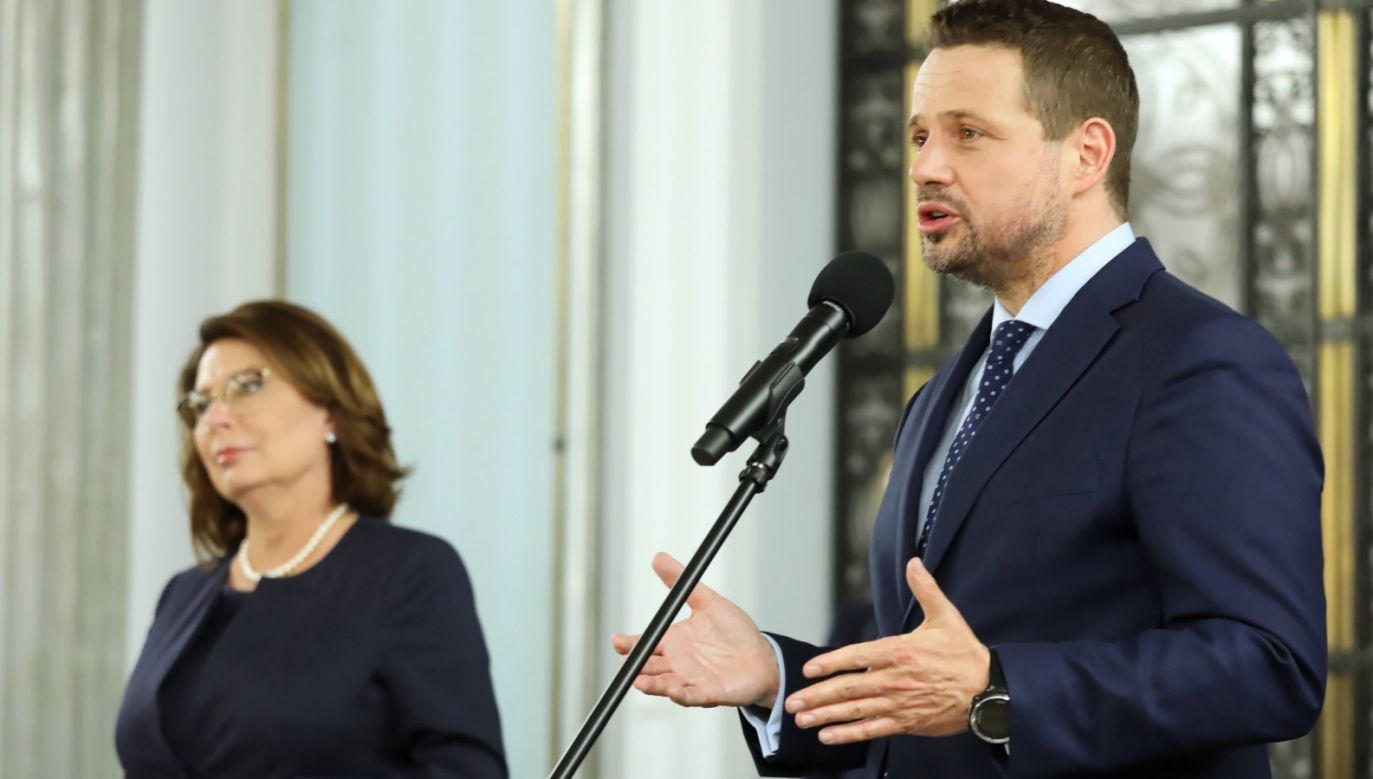 Kampania Kidawy-Błońskiej zakończyła się na kłamstwem, podobnie rozpoczyna jej następca (fot. PAP/Tomasz Gzell)