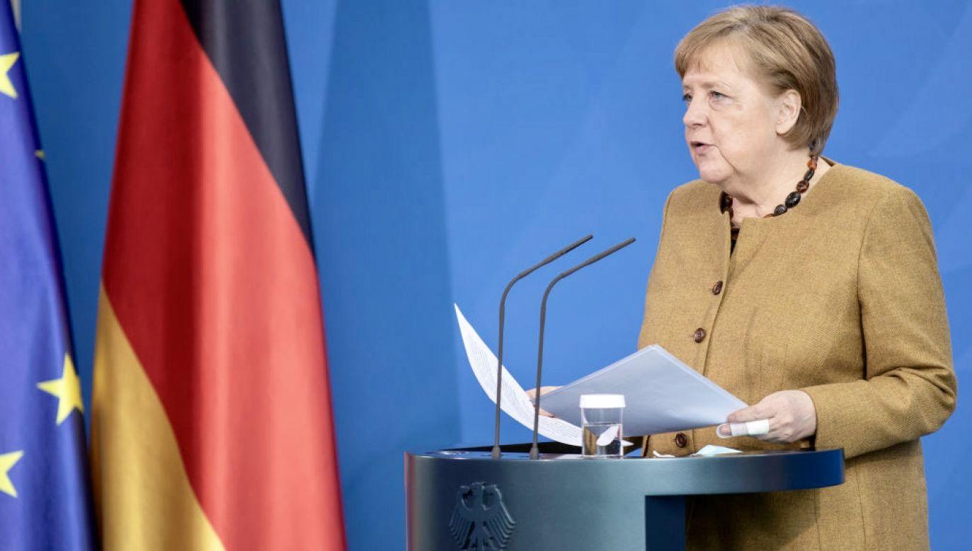Niemcy popierają budowę Nord Stream 2 (fot. Andreas Gora/Pool/Getty Images)