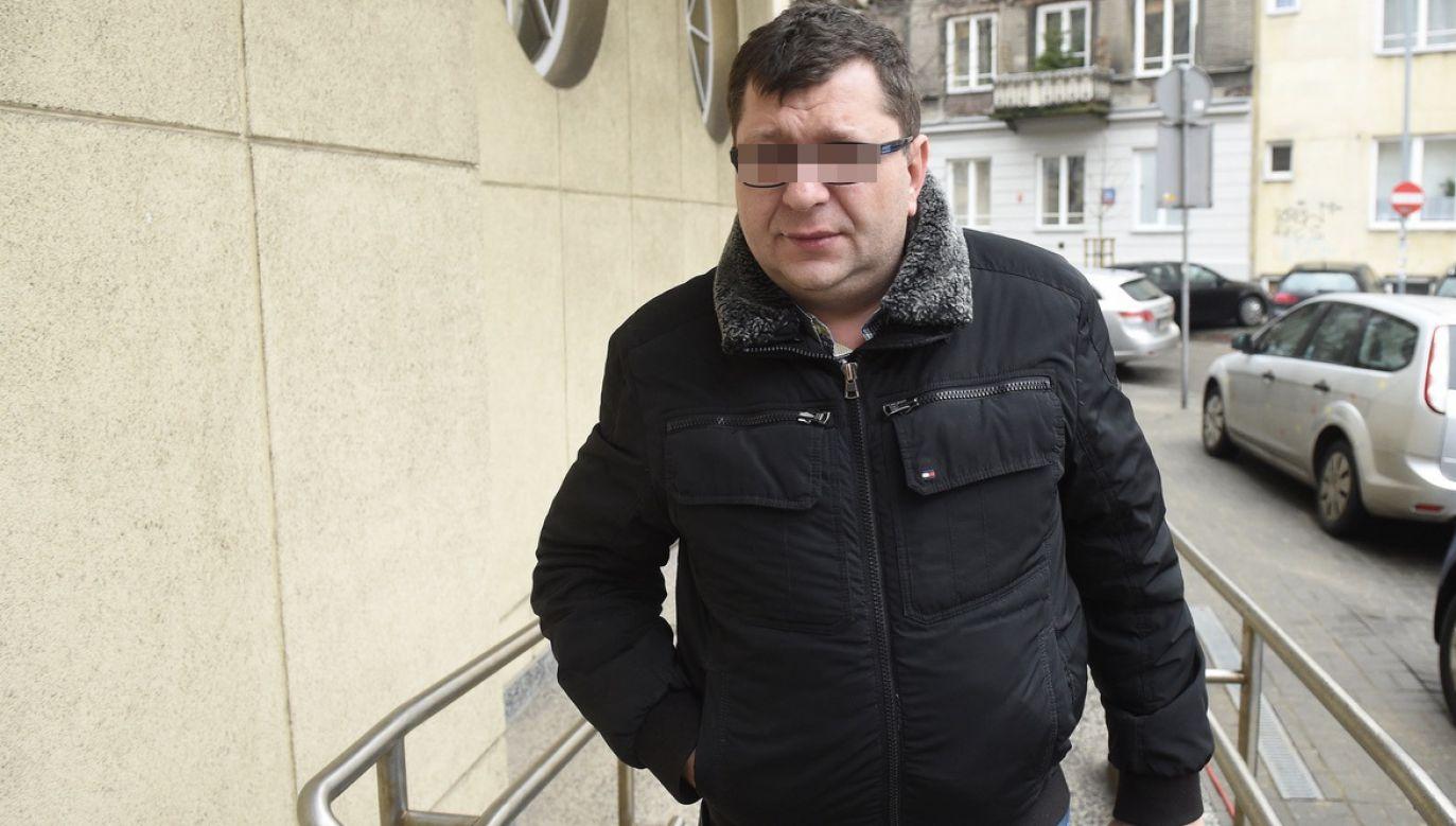 S. twierdzi, że azyl da mu prawo do życia (fot. arch.PAP/Radek Pietruszka)