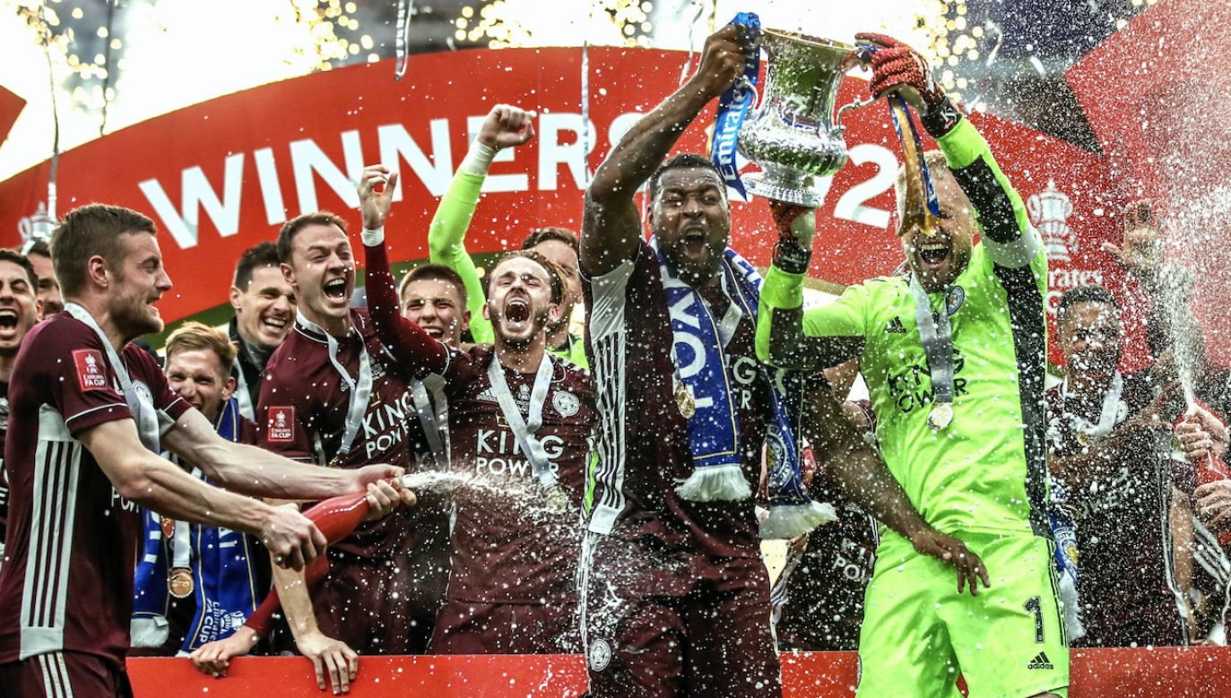 Piłkarze Leicester City sięgnęli po Puchar Anglii (fot. PAP/EPA)
