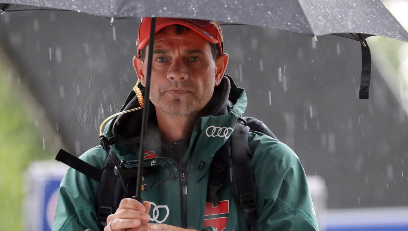 Stefan Horngacher, trener reprezentacji Niemiec (fot. PAP/EPA)