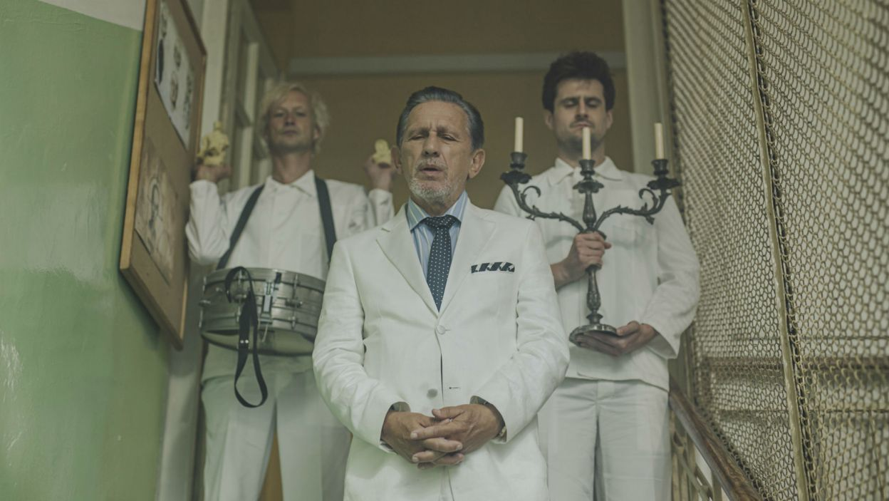 Akcja kryminalnej komedii Kazimierza Brandysa rozgrywa się w klinice dla nerwowo chorych (fot. Stanisław Loba)