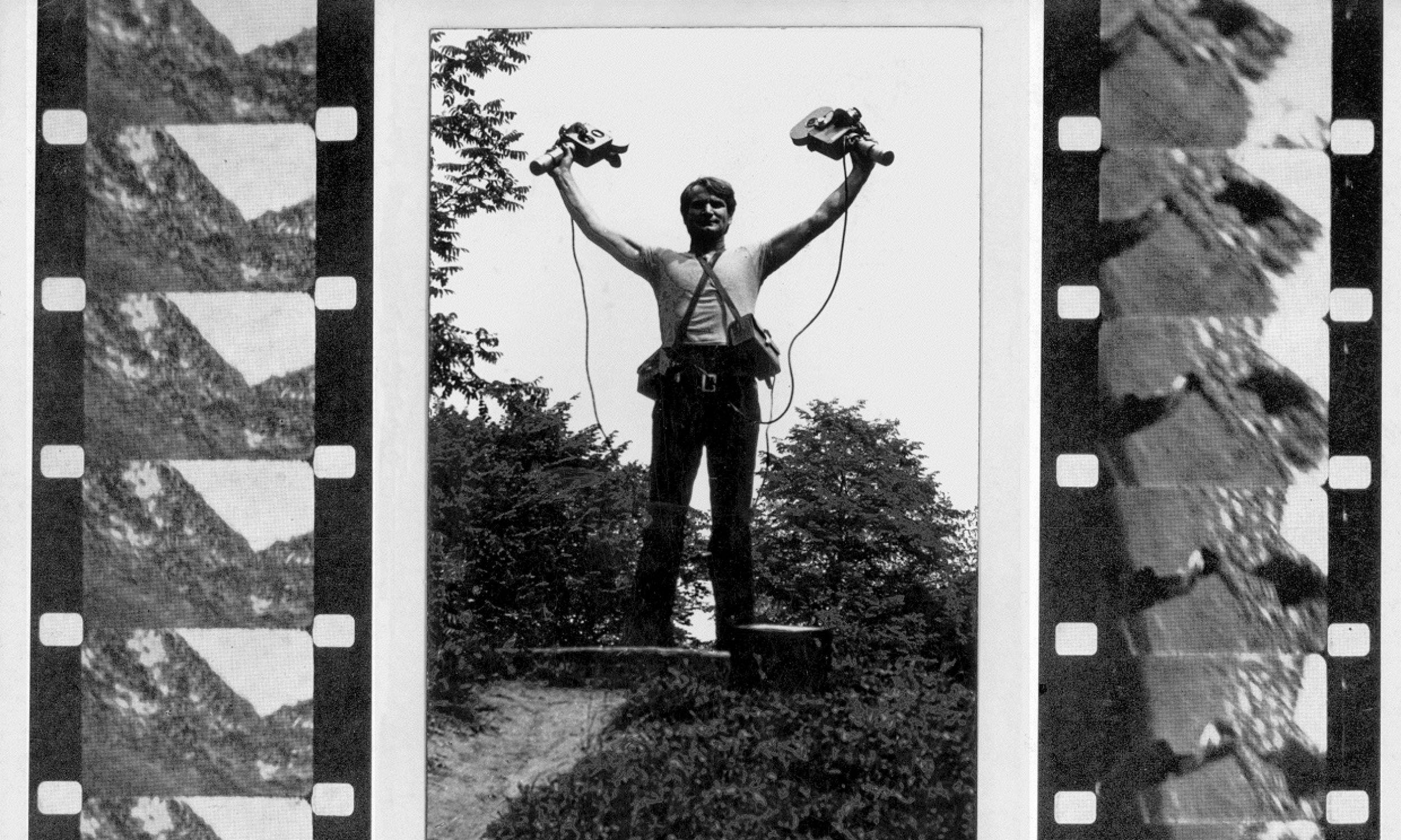 Ćwiczenia na dwie ręce. Rok 1976. Fot. Muzeum Sztuki Nowoczesnej w Warszawie