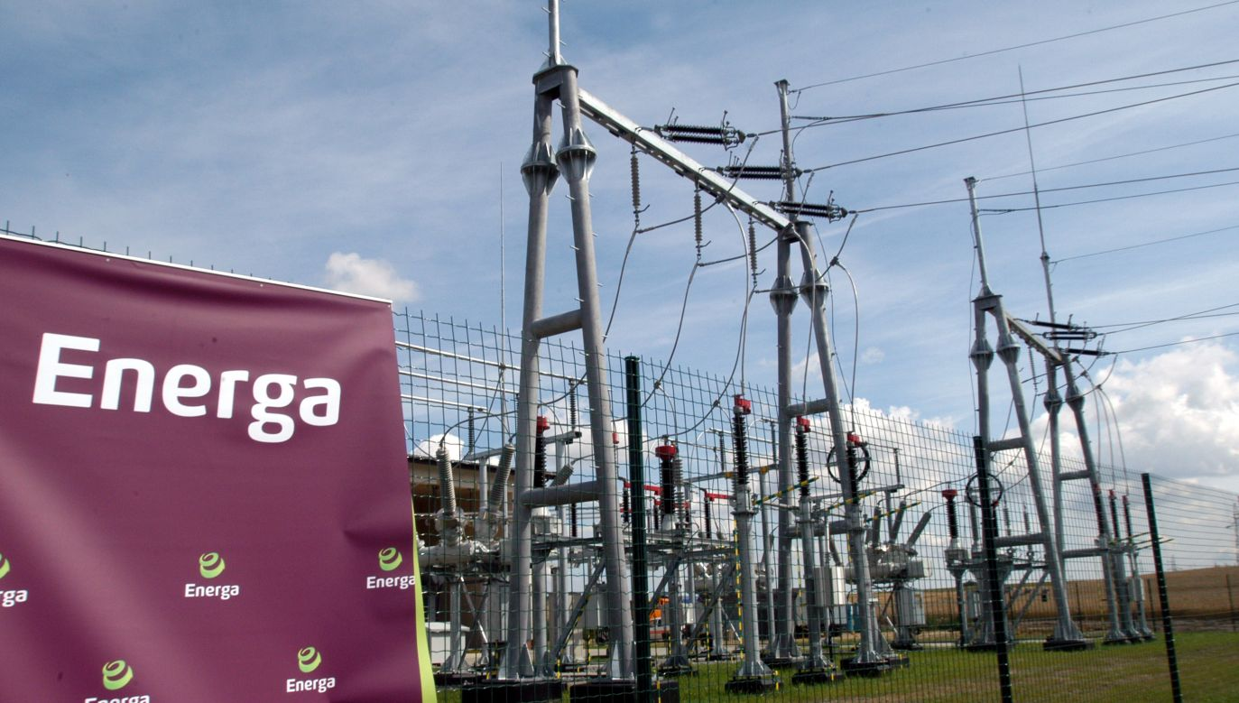 Energa substation in Swarozyn, Northern Poland 	Photo: PAP/Barbara Ostrowska