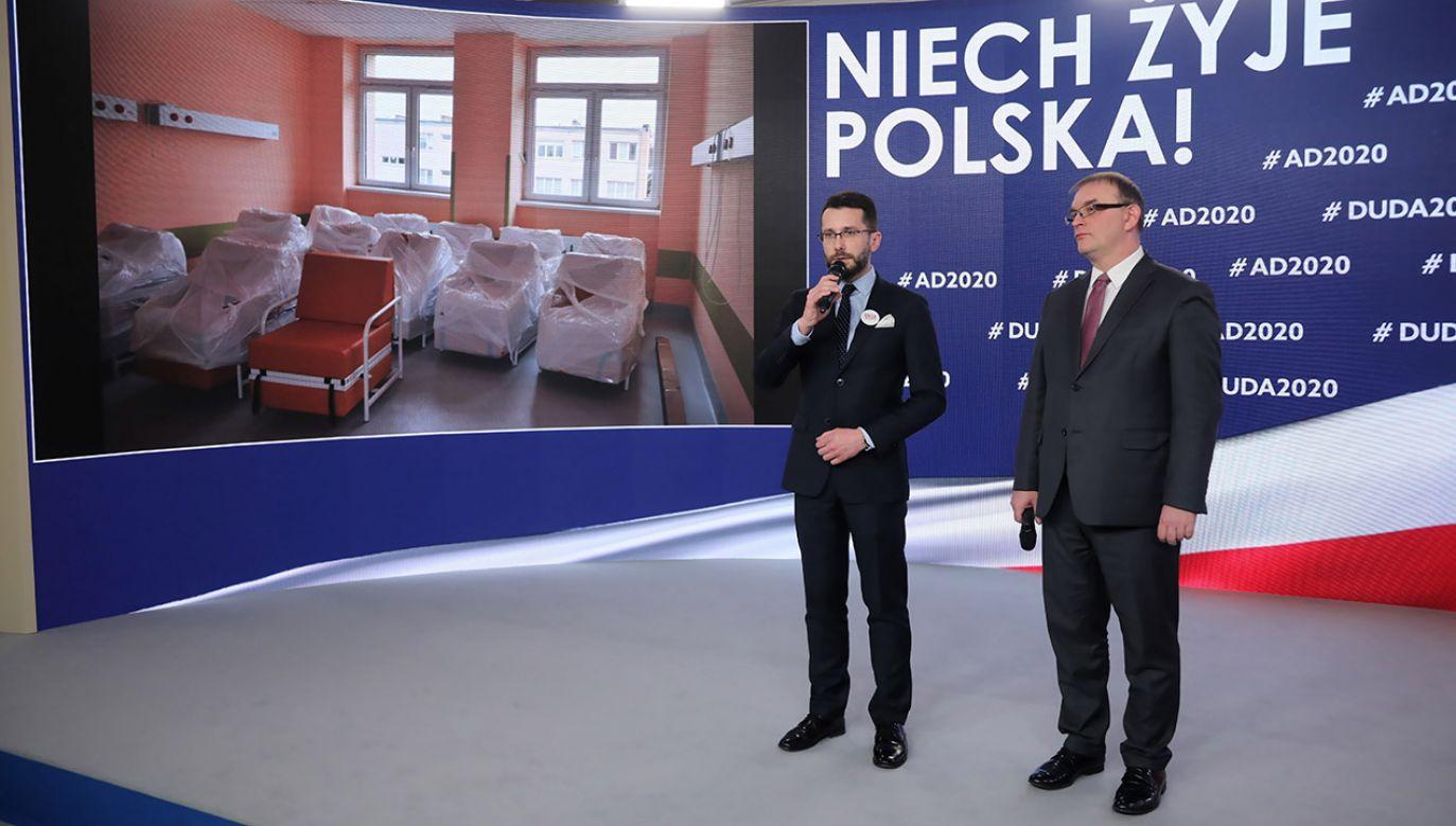Fogiel odpowiedział na zarzuty Szłapki (fot. PAP/Wojciech Olkuśnik)