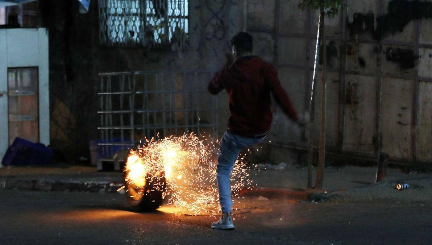 To największa eskalacja przemocy w Izraelu od siedmiu lat (fot. PAP/EPA/ABED AL HASHLAMOUN)