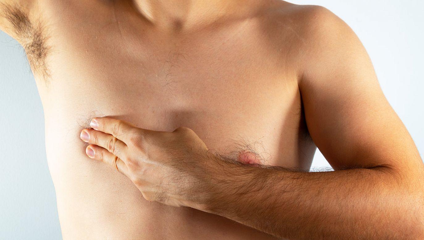 Rak piersi u mężczyzn (fot. Shutterstock/Antonio Tanaka)