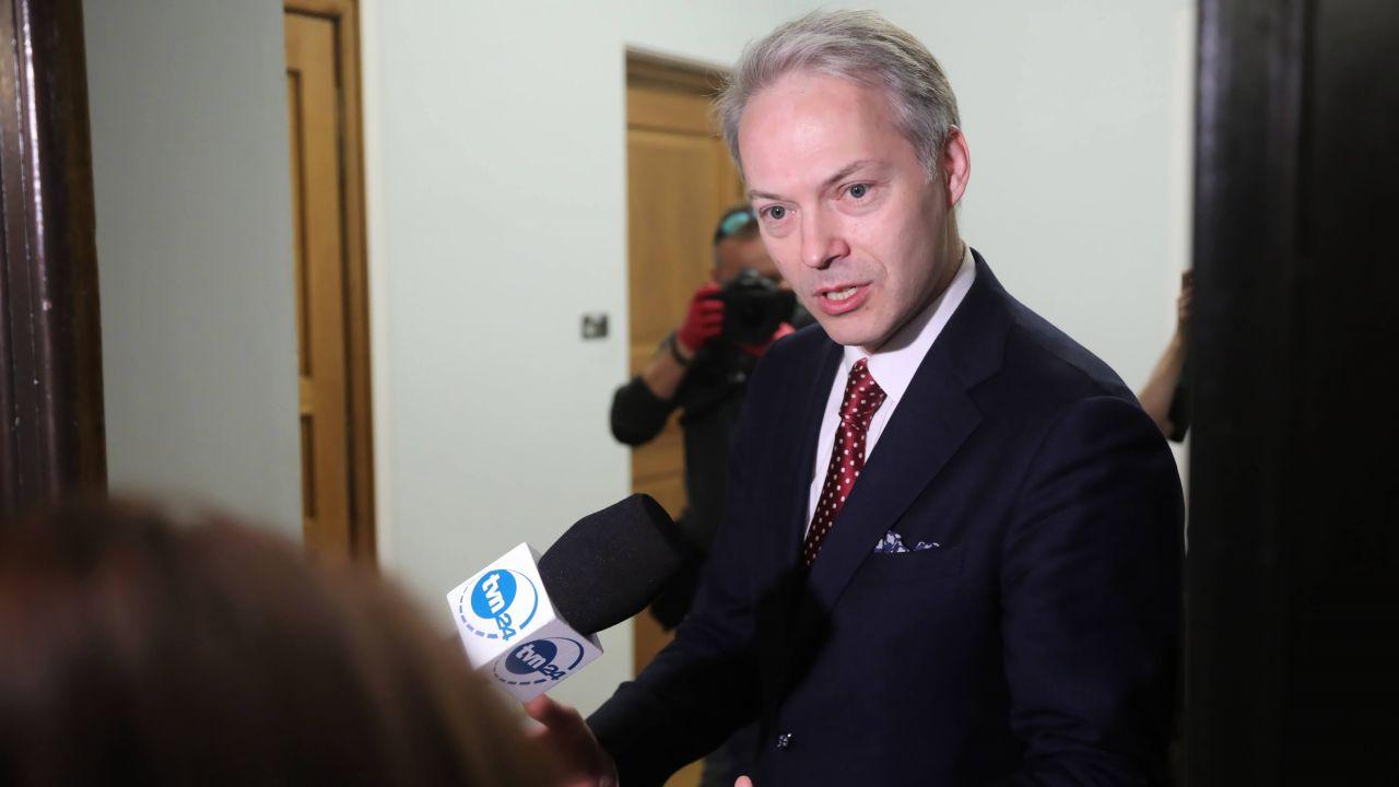 Polityk został wyproszony z programu w TVN24 (fot. arch. PAP/Wojciech Olkuśnik)