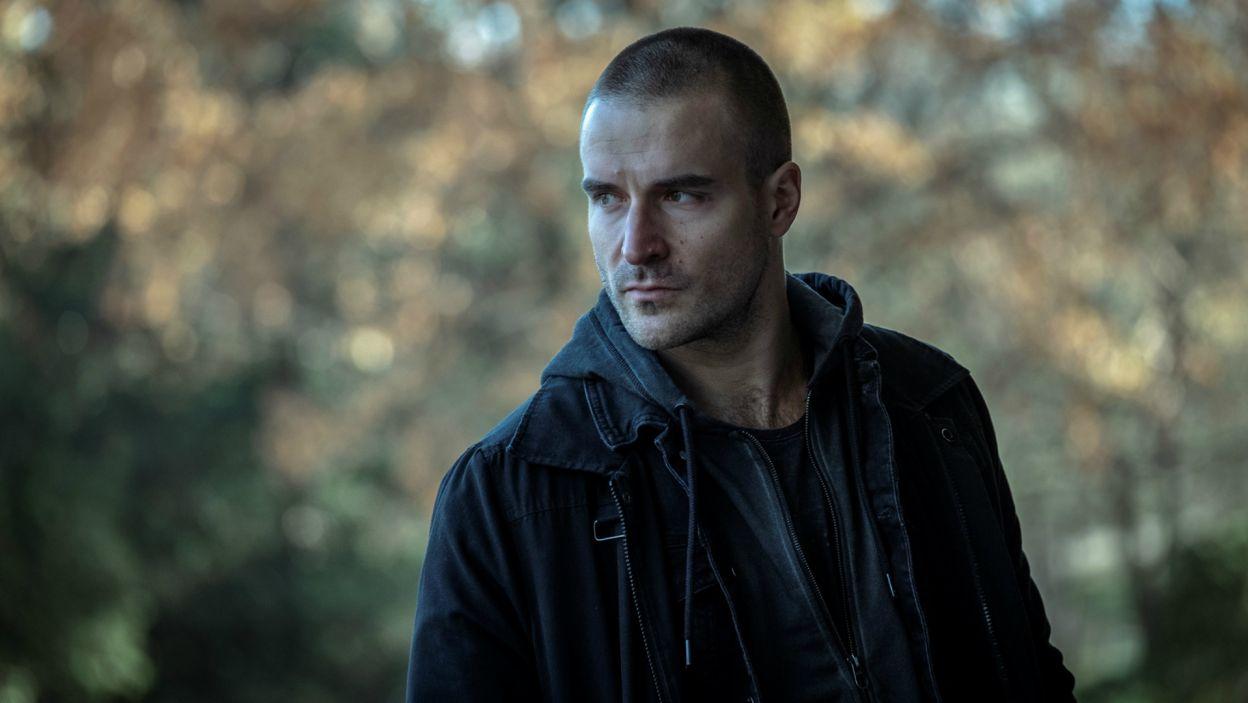 """W głównej roli zobaczymy Piotra Stramowskiego, znanego z filmów Patryka Vegi, takich jak: """"Kobiety mafii"""" czy """"Pitbull. Niebezpieczne kobiety"""" (fot. R. Pałka)"""