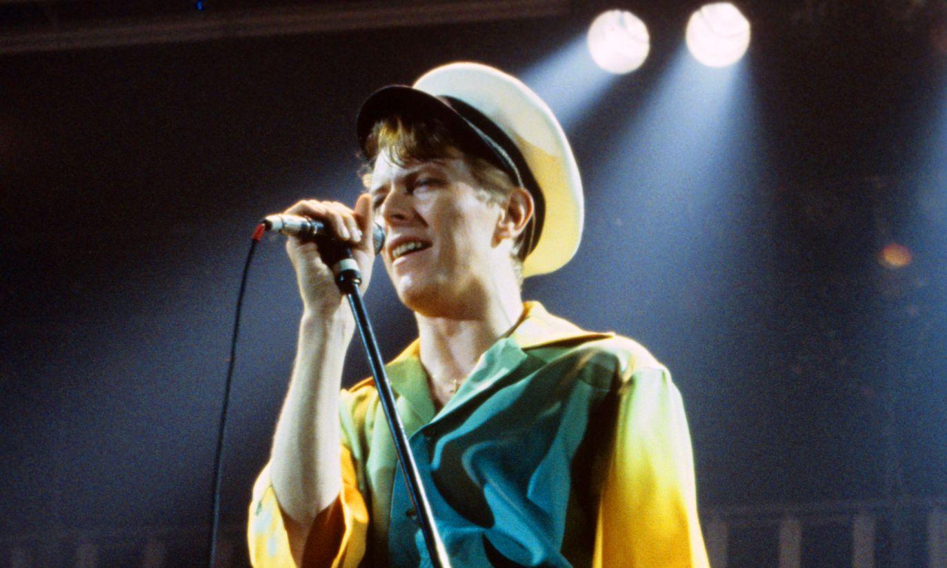 Ekscentryczny strój był jego znakiem firmowym. Koncert w 1978 r. (fot. arch. PAP/DPA)