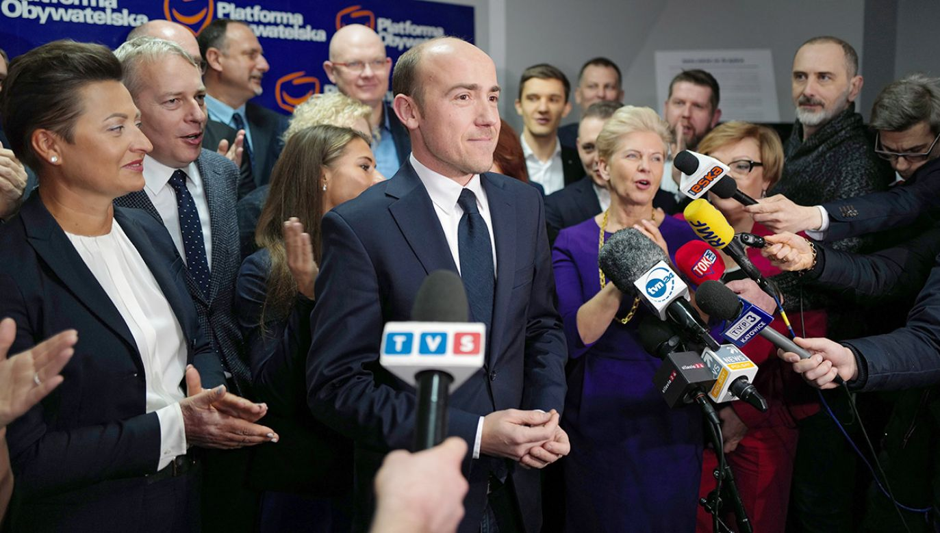 Nowym szefem PO będzie Borys Budka (fot. PAP/Andrzej Grygiel)