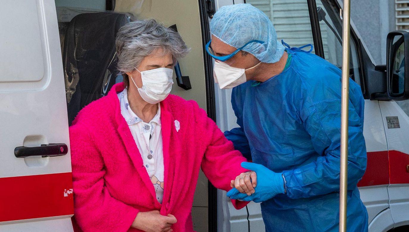 W Portugalii potwierdzono prawie 12,5 tys. zachorowań (fot. Horacio Villalobos Corbis via Getty Images)